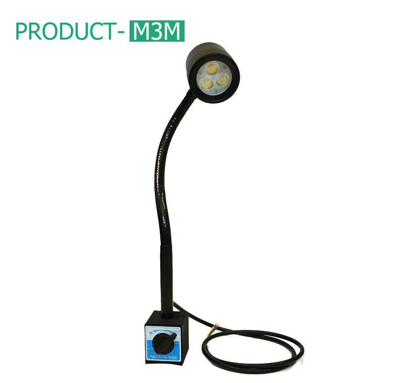 Magnet gooseneck led light